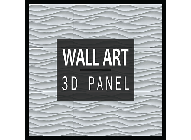 logo Wall Art 3d Panel